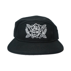 Rose Bloom 5 Panel Hat