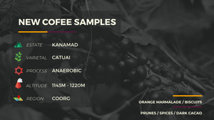 NEW COFFEE SAMPLES