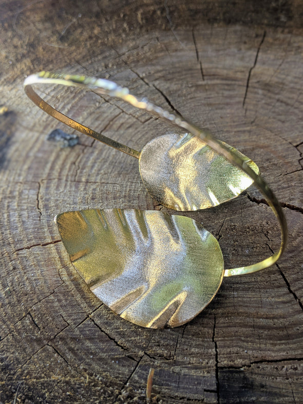 Chic Vibe Double Leaf Bracelet