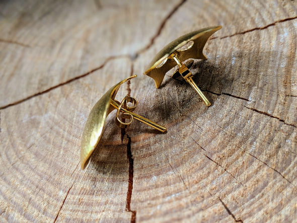 18K Gold Over Copper Creature Earrings