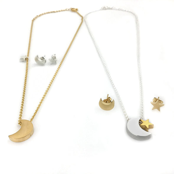 Chic Vibe Moon and Starr Earrings