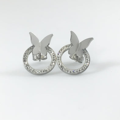 Chic Vibe Butterfly Earrings