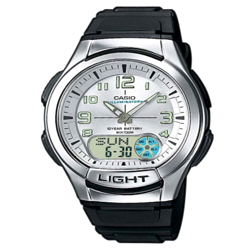 Casio Men's Ana-digi Watch (AQ-180W-7BV)
