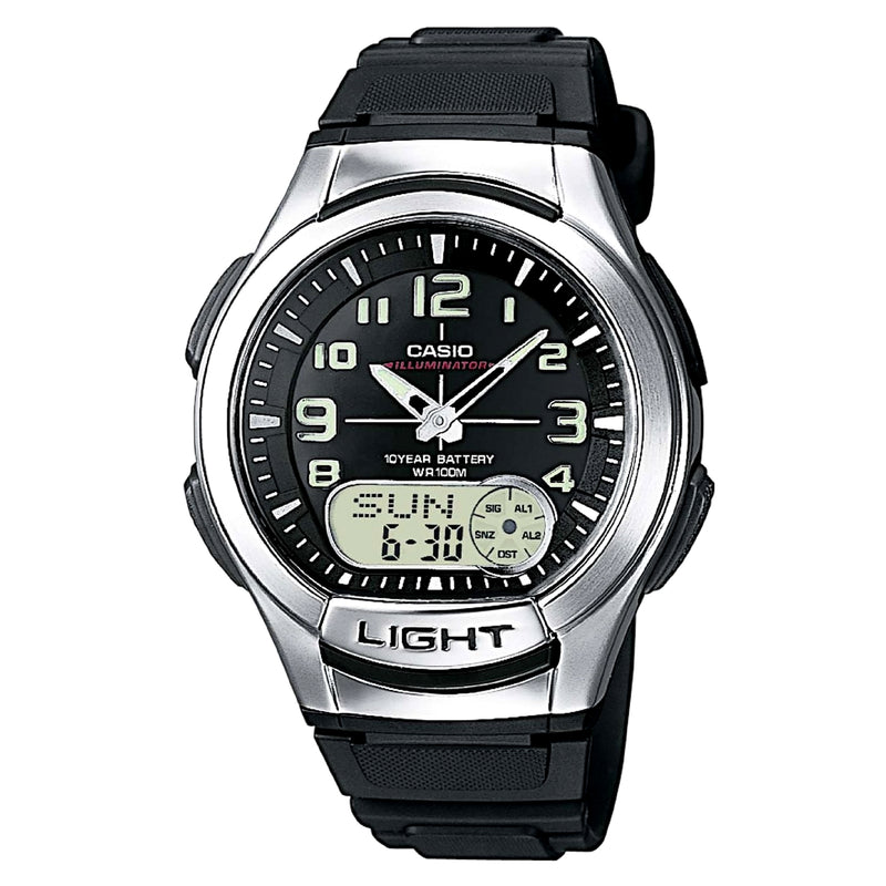 Casio Men's Ana-digi Watch (AQ-180W-1BV)