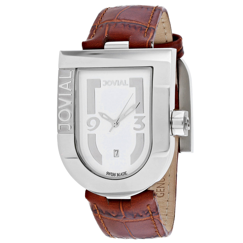 Jovial Men's Classic Watch (06406-GSL-01)