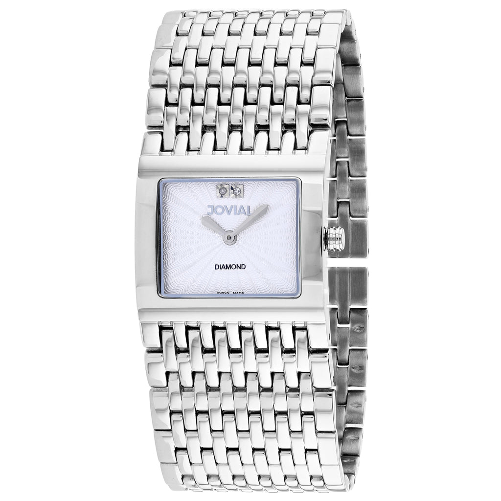Jovial Women's Diamond Watch (08037-MSM-02)