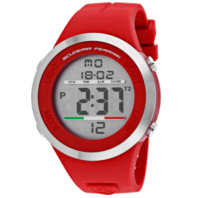 Ferrari Scuderia Men's Digital Watch (830370)