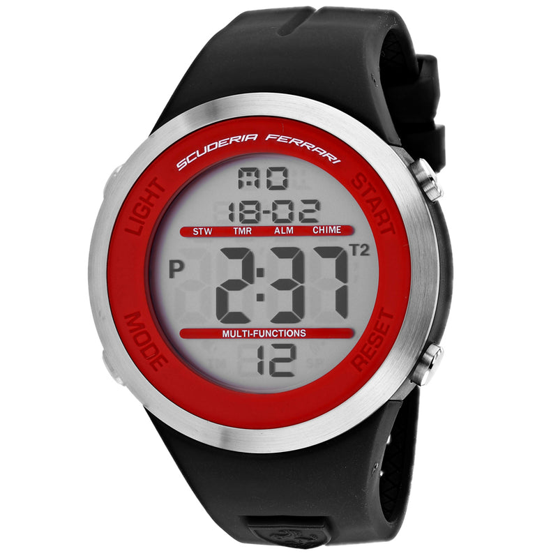 Ferrari Scuderia Men's Digital Watch (830371)