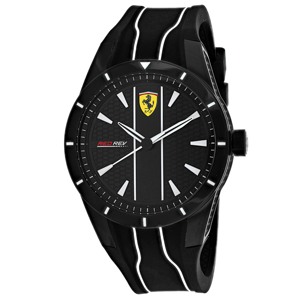 Ferrari Scuderia Men's Red Rev Evo Watch (830495)