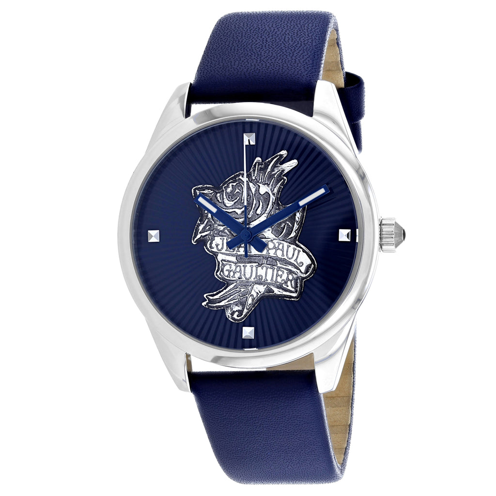 Jean Paul Gaultier Women's Navy Tatoo Watch (8502413)
