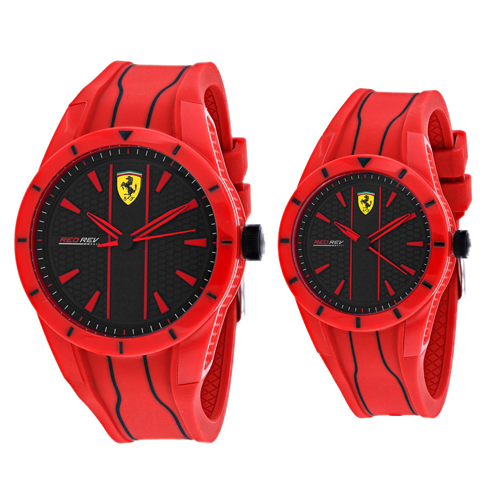 Ferrari Scuderia Men and Women's Classic Set Watch (870022)