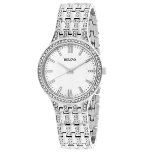 Bulova Women's Crystal Watch (96L242)
