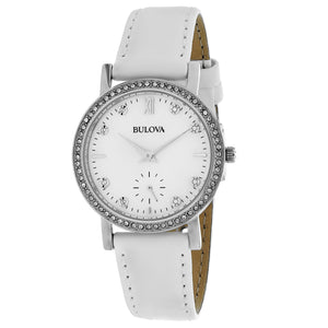 Bulova Women's Crystal Watch (96L245)