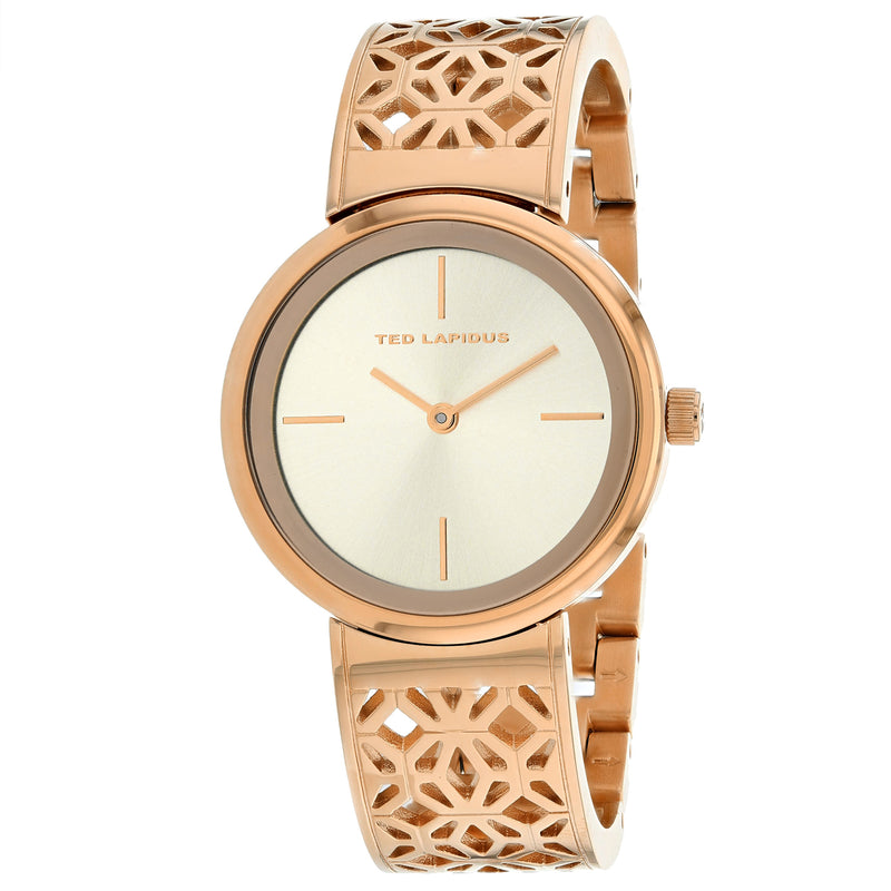 Ted Lapidus Women's Classic Watch (A0729URIW)