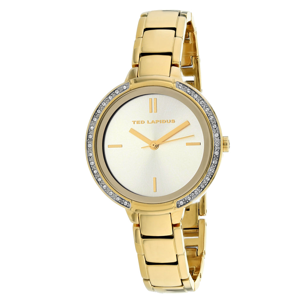 Ted Lapidus Women's Classic Watch (A0730PTIX)