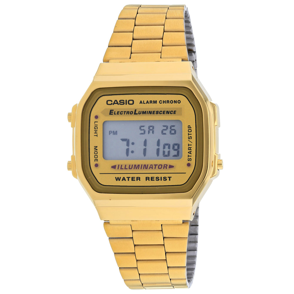 Casio Men's Vintage Watch (A168WG-9BWVT)