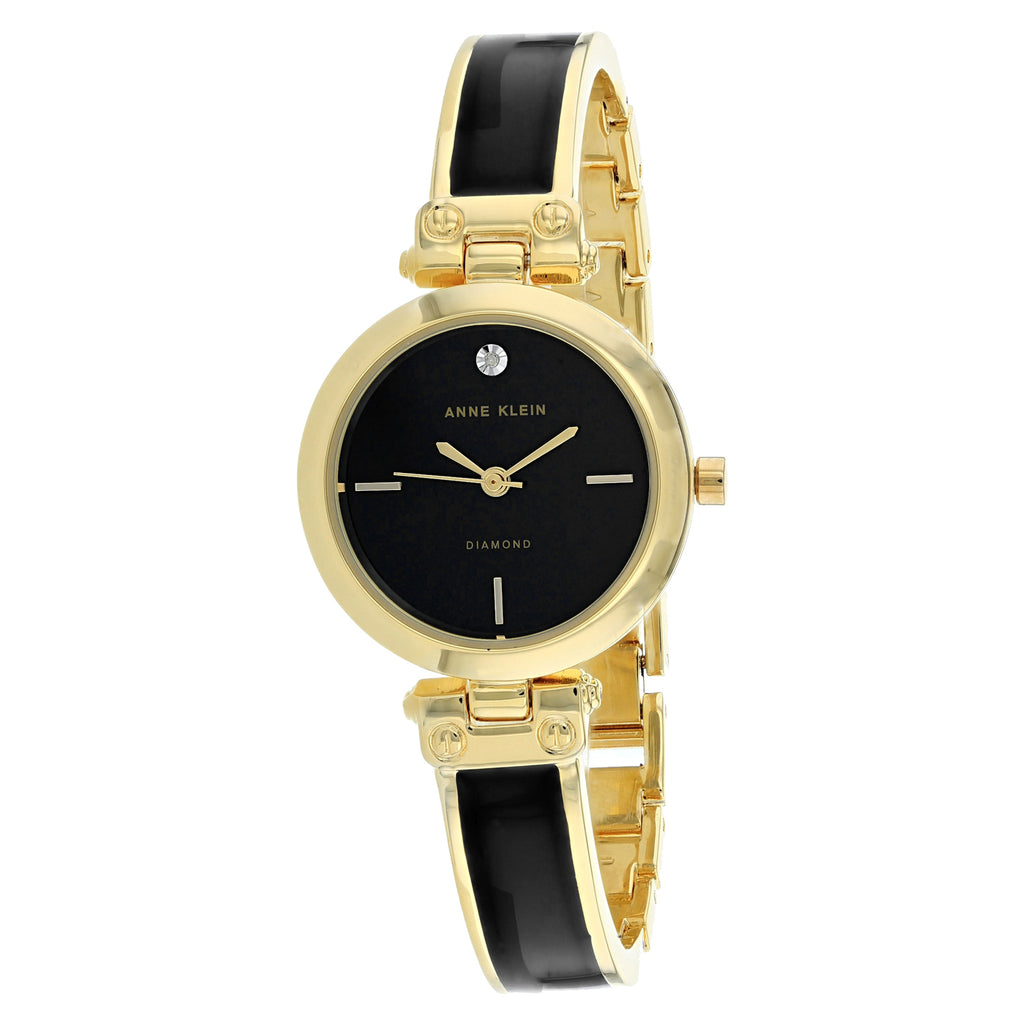 Anne Klein Women's Classic Watch (AK-2694BKGB)