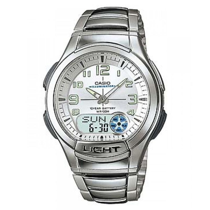 Casio Men's Ana-digi Watch (AQ-180WD-7BV)