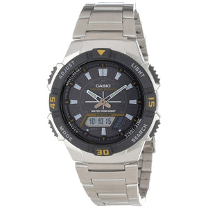 Casio Men's Ana-digi Watch (AQS-800WD-1EV)