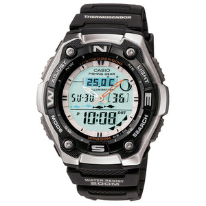 Casio Men's Ana-digi Watch (AQW-101-1AV)