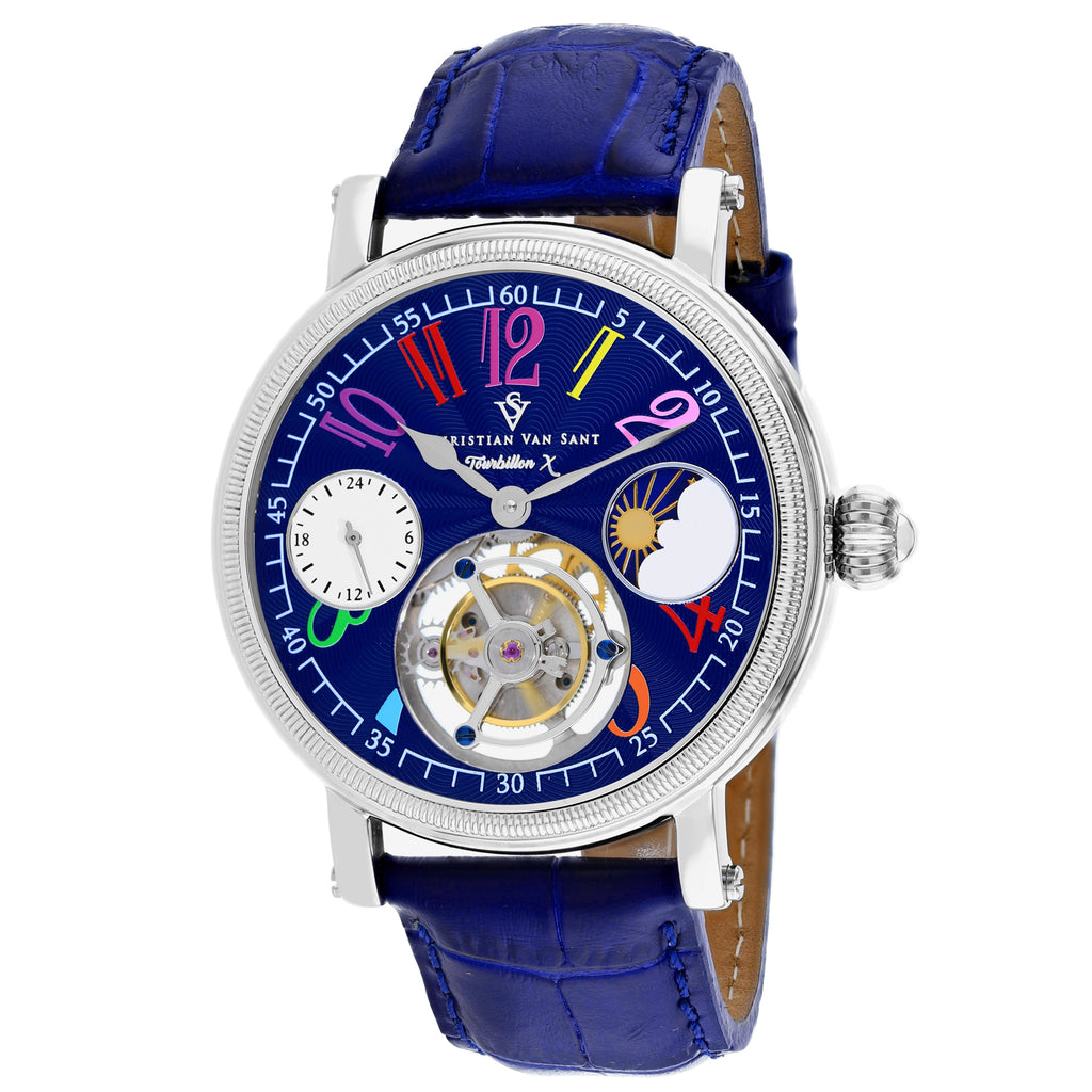 Christian Van Sant Men's Tourbillon X Limited Edition Watch (CV0992)