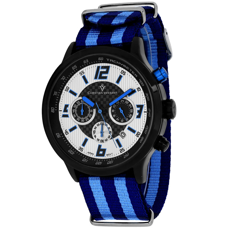 Christian Van Sant Men's Speedway Watch (CV3121NBL)