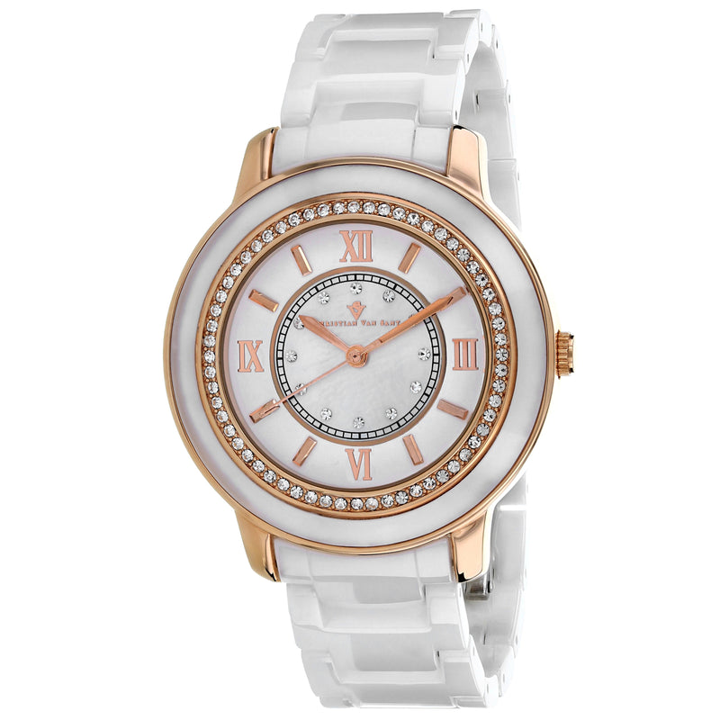 Christian Van Sant Women's Clay Watch (CV3212)