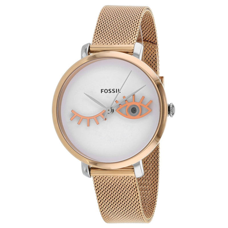 Fossil Women's Jacqueline Wink Eye Watch (ES4414)