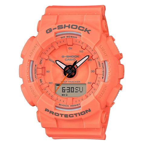 Casio Women's G-Shock Watch (GMAS130VC-4A)