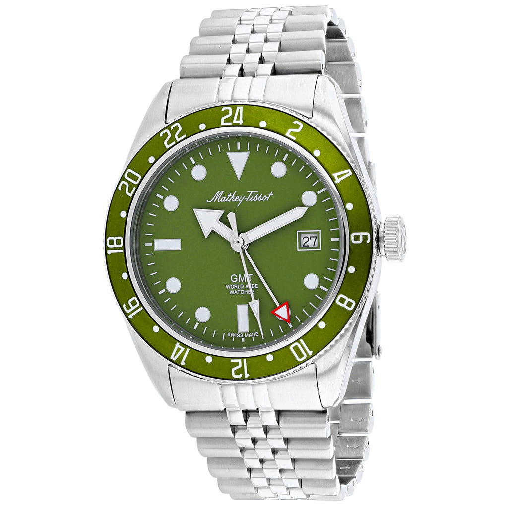 Mathey Tissot Men's Rolly Vintage Watch (H902AV)