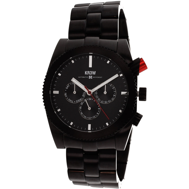 Kr3w Men's Red rum Watch (K1342B)
