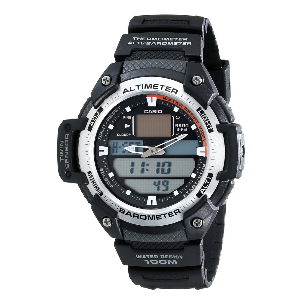 Casio Men's Sport Gear Watch (SGW-400H-1BV)