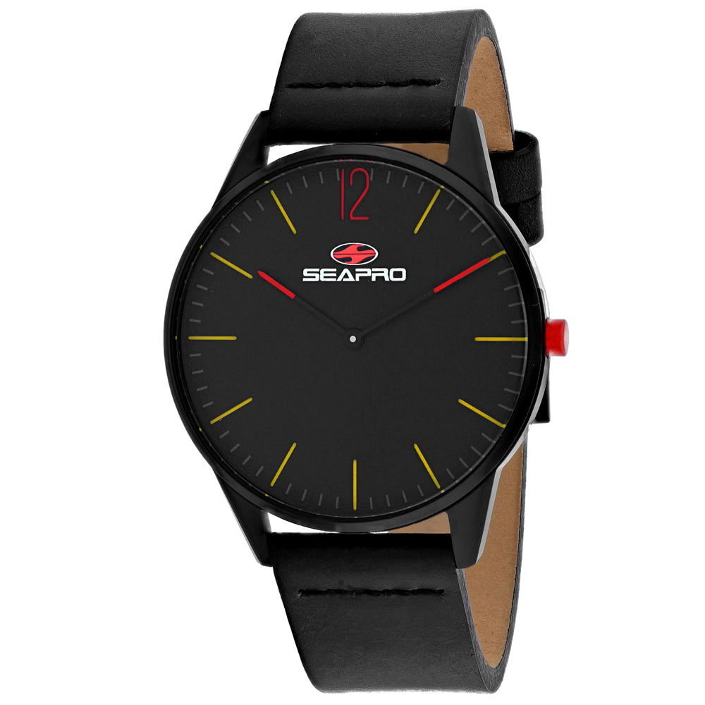 Seapro Men's Black hole Watch (SP0100)