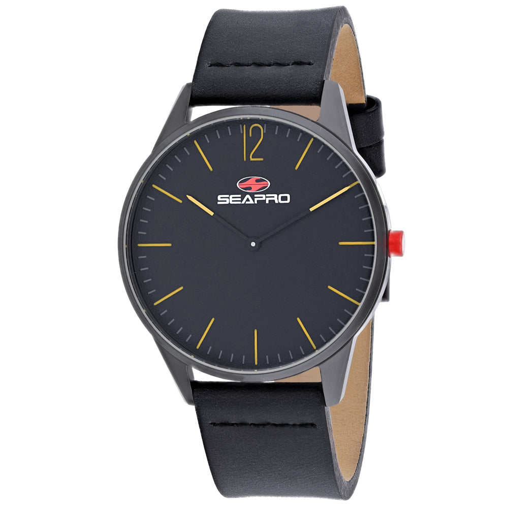 Seapro Men's Black hole Watch (SP0102)