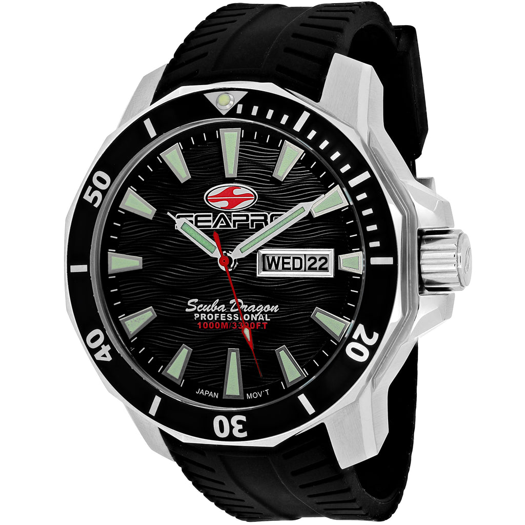 Seapro Men's Scuba Dragon Diver Limited Edition 1000 Meters Watch (SP8310)
