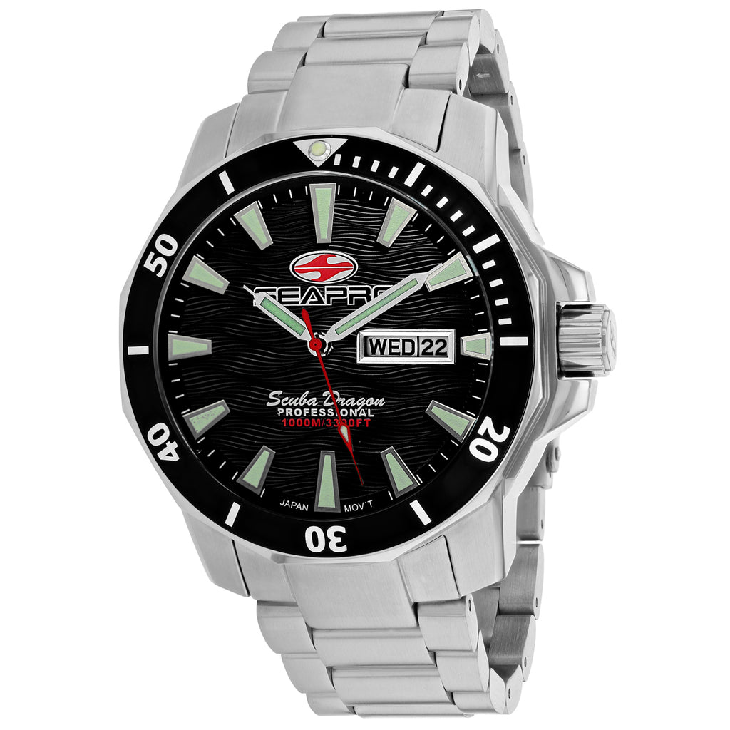 Seapro Men's Scuba Dragon Diver Limited Edition 1000 Meters Watch (SP8310S)