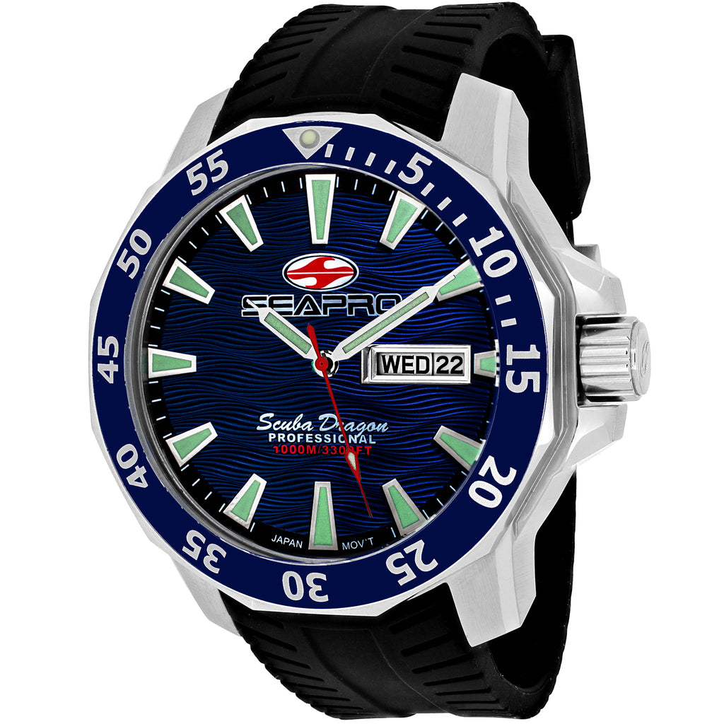 Seapro Men's Scuba Dragon Diver Limited Edition 1000 Meters Watch (SP8311)
