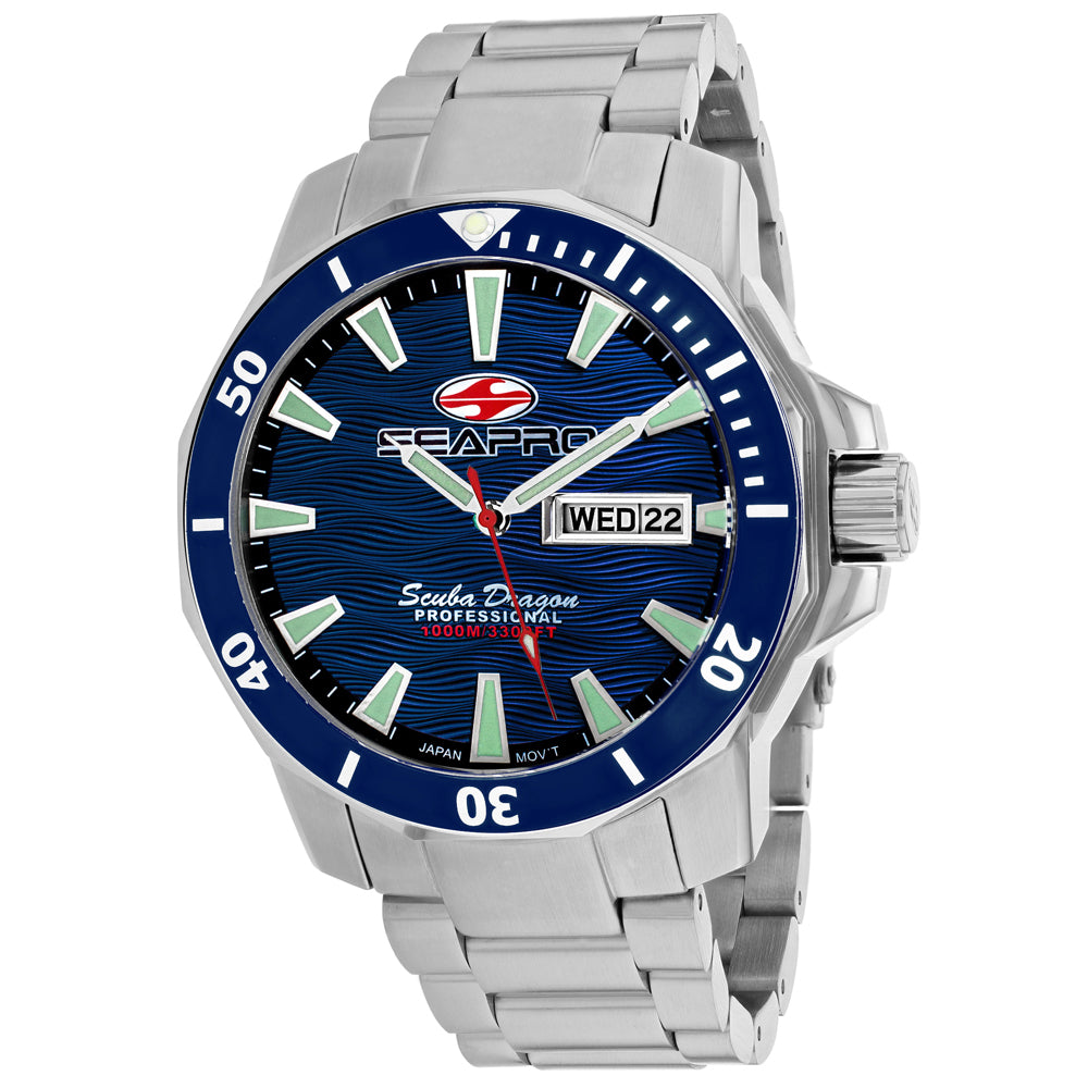 Seapro Men's Scuba Dragon Diver Limited Edition 1000 Meters Watch (SP8311S)
