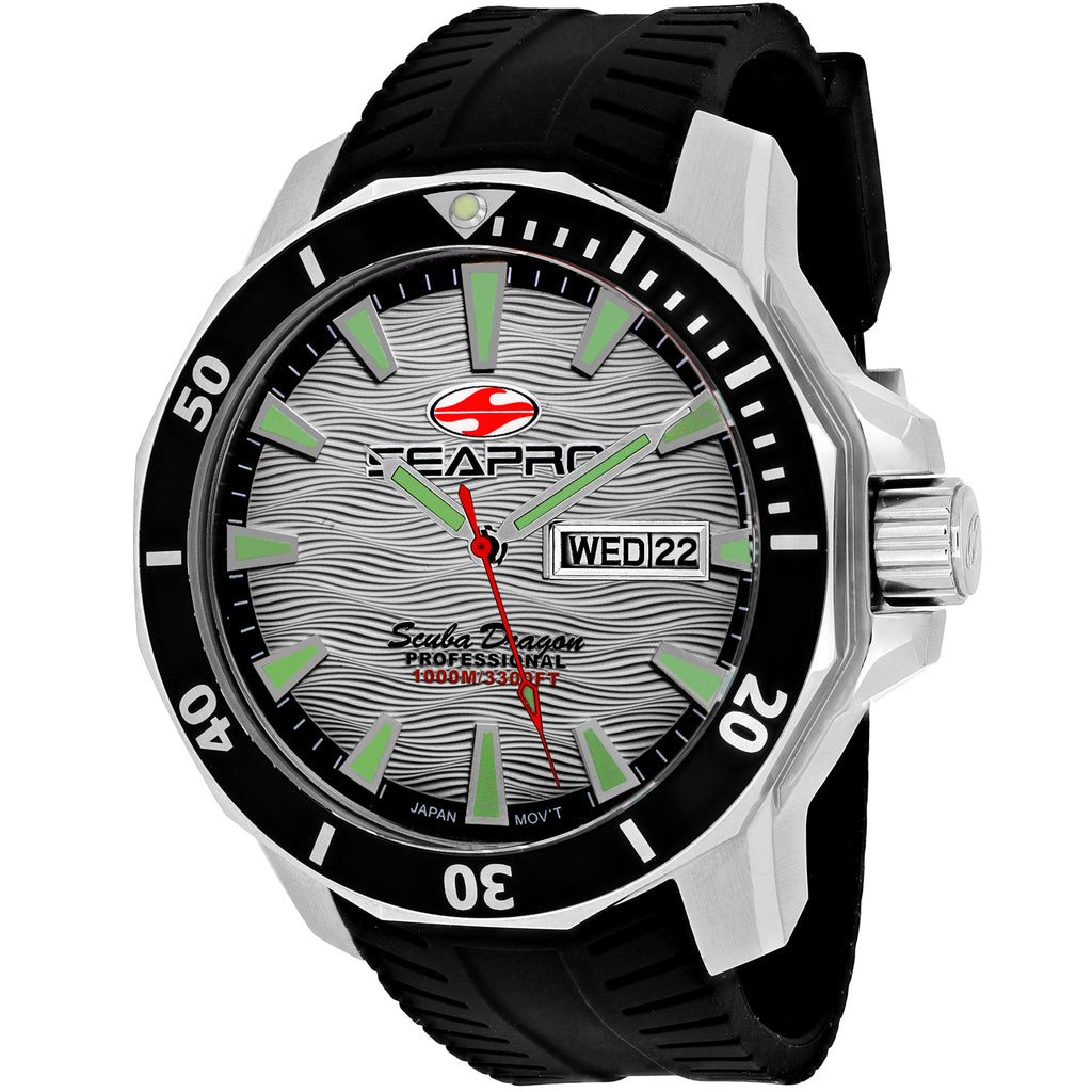 Seapro Men's Scuba Dragon Diver Limited Edition 1000 Meters Watch (SP8312)