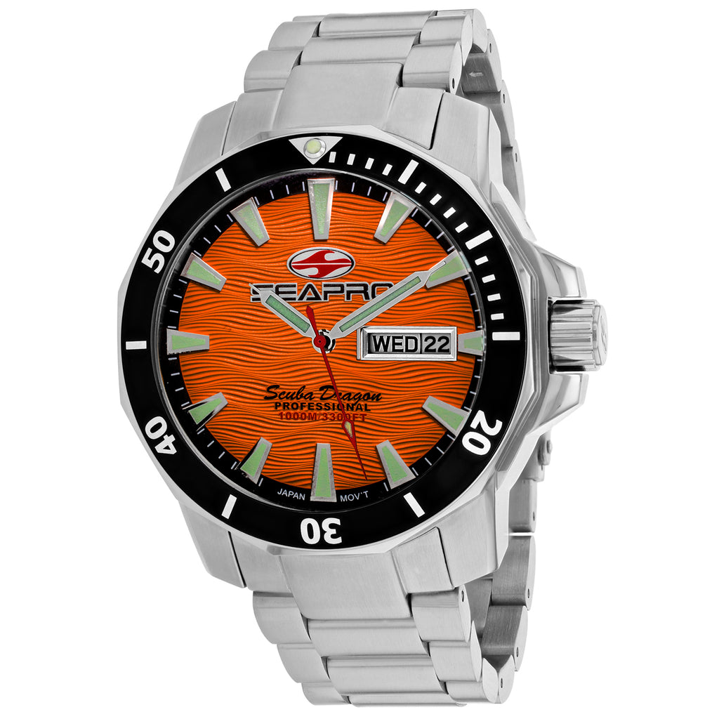 Seapro Men's Scuba Dragon Diver Limited Edition 1000 Meters Watch (SP8314S)