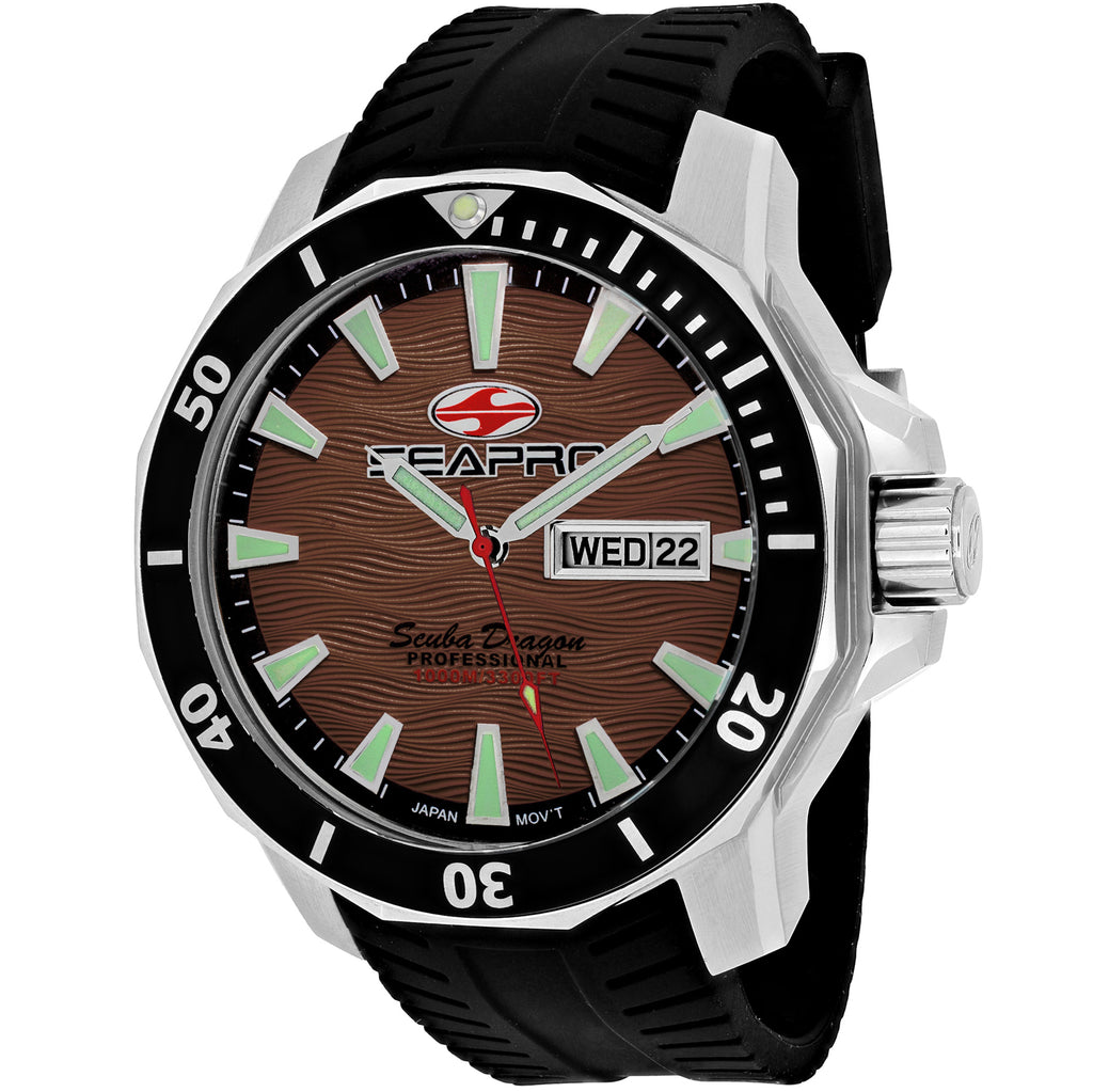 Seapro Men's Scuba Dragon Diver Limited Edition 1000 Meters Watch (SP8315)