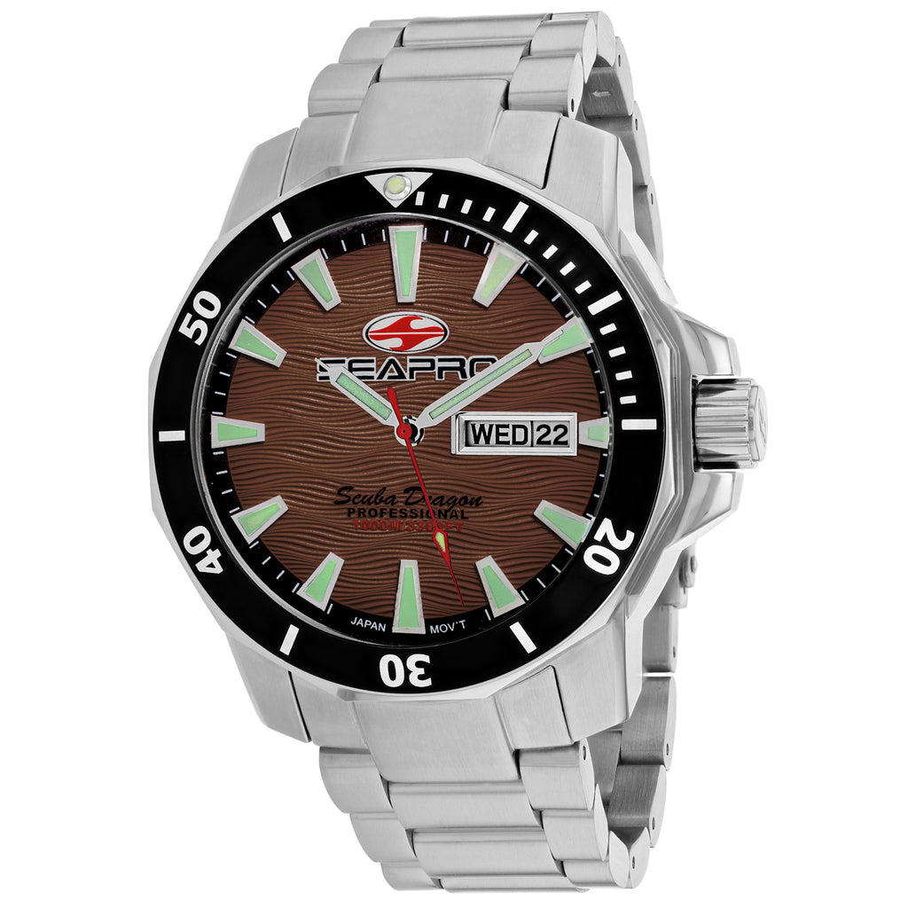Seapro Men's Scuba Dragon Diver Limited Edition 1000 Meters Watch (SP8315S)