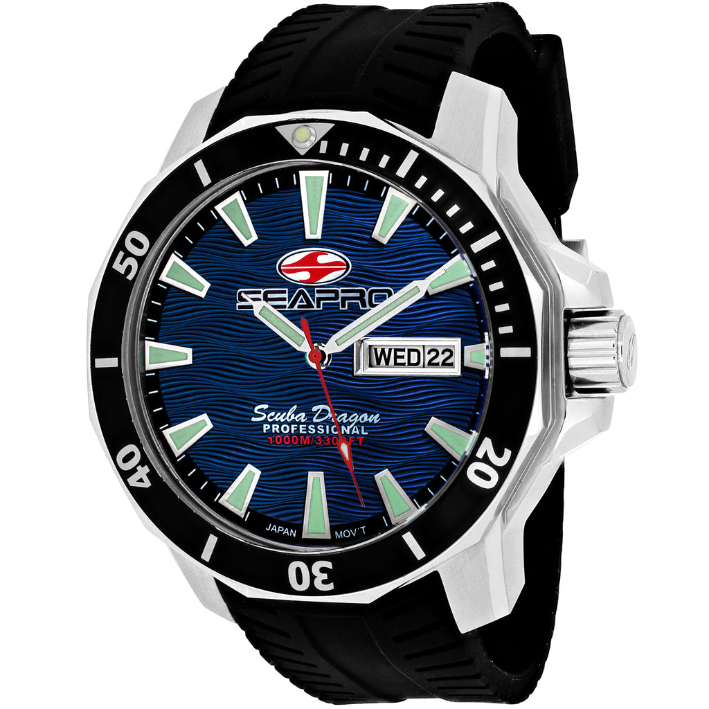 Seapro Men's Scuba Dragon Diver Limited Edition 1000 Meters Watch (SP8316)
