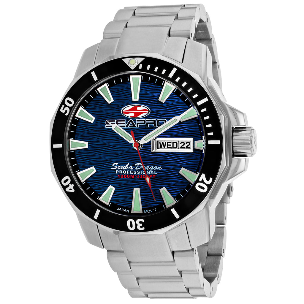 Seapro Men's Scuba Dragon Diver Limited Edition 1000 Meters Watch (SP8316S)
