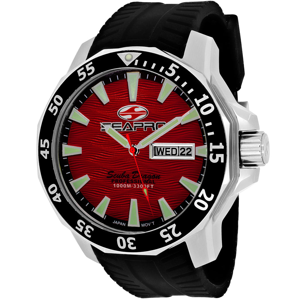 Seapro Men's Scuba Dragon Diver Limited Edition 1000 Meters Watch (SP8317)