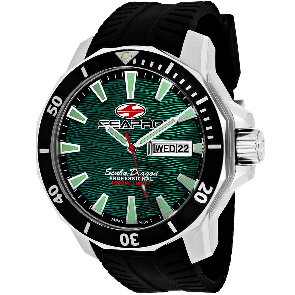 Seapro Men's Scuba Dragon Diver Limited Edition 1000 Meters Watch (SP8318)