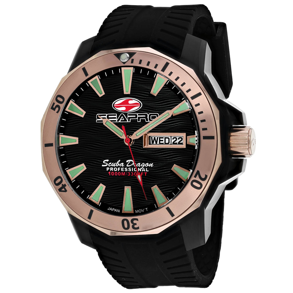 Seapro Men's Scuba Dragon Diver Limited Edition 1000 Meters Watch (SP8323)