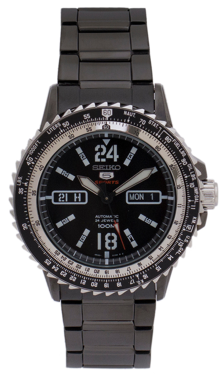 Seiko Men's 5 Sports Watch (SRP355K1)