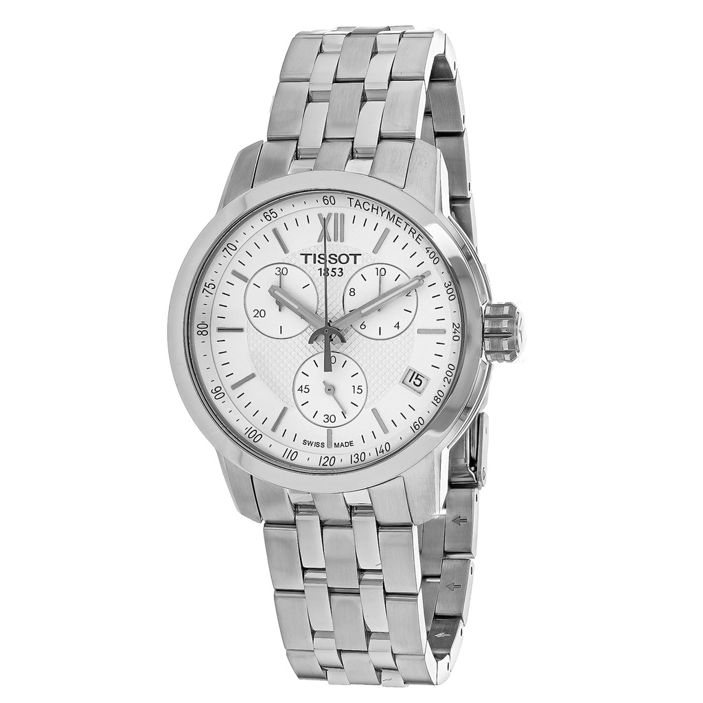 Tissot Men's PRC 200 Chronograph Watch (T0554171101800)