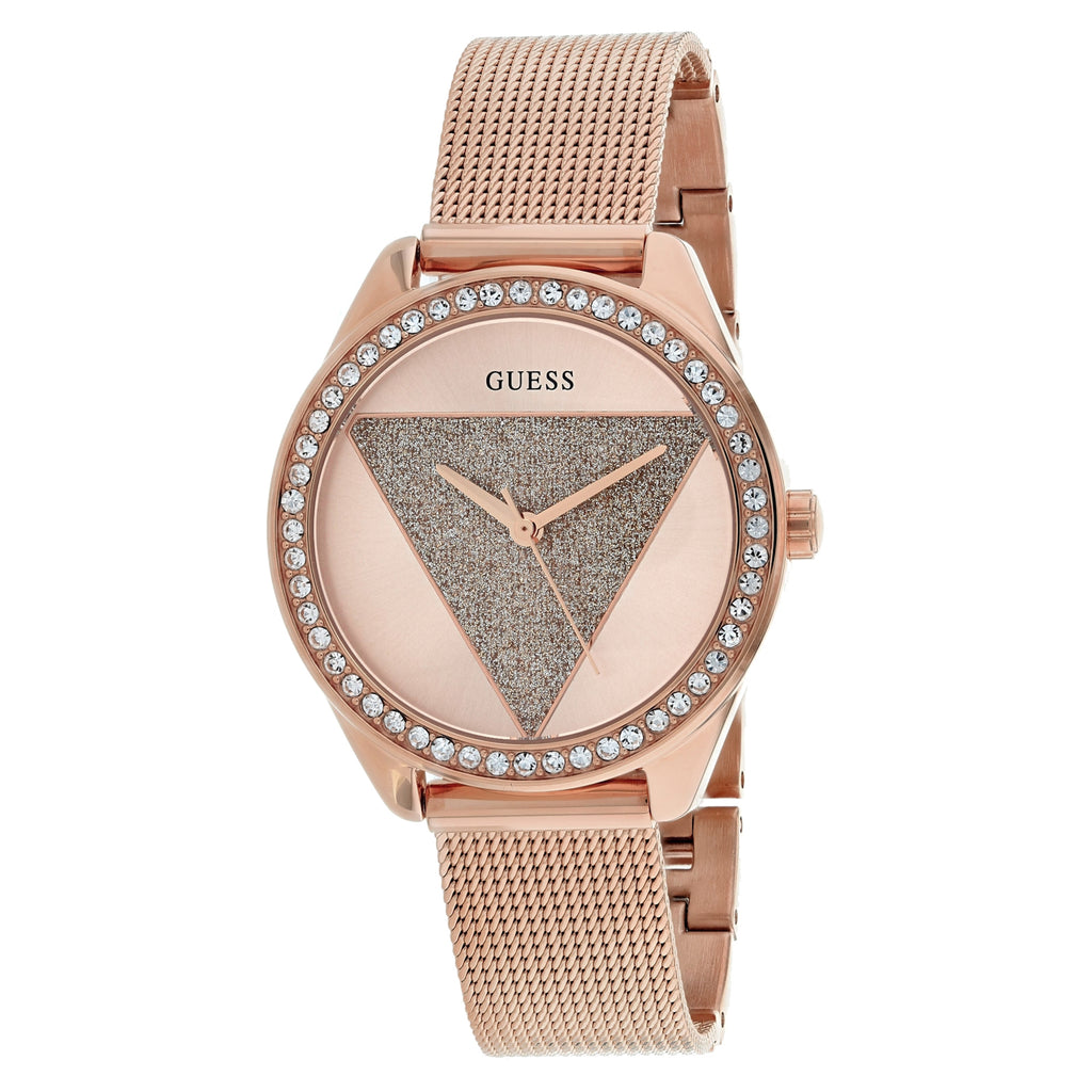 Guess Women's Tri Glitz Watch (W1142L4)